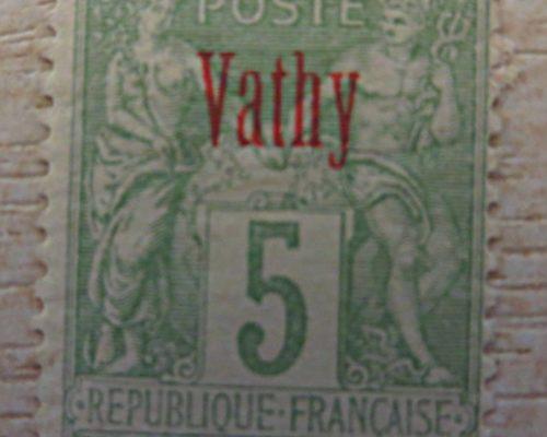 Vathy Briefmarken Frankreich