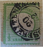 Drittel Groschen 1872 deutsche Reichspost