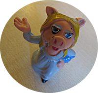 Muppets Miss Piggy und Rowlf Schleich 1976