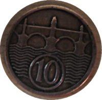 10 Heller 1926 Tschechoslowakei - Czechoslovakia