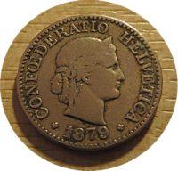 10 Rappen 1879 Schweiz