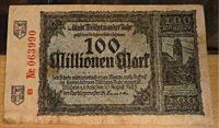 100 Millionen Mark 1923 Mülheim a.d.R.