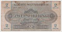 2 Schilling 1944  Österreich alliierte Militärbehörde
