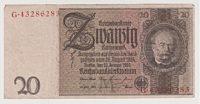 20 Reichsmark 1929 deutsches Reich