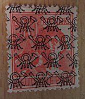 Band- und Netzaufdrucke 1948 Deutschland Briefmarken