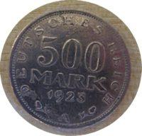 500 Mark 1923  200 Mark 1923