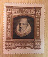 Cervantes Dienstmarken Spanien 1916