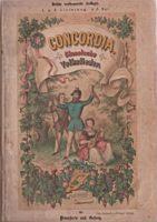 Concordia klassische Volkslieder 3 Auflage 1863