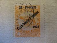 Posta fiume 1919 - 1921 overprint - vergessene Staaten