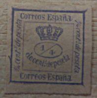 Zeitungsmarken Spanien 1873 bis 77