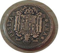 1 Peseta 1947 Franco - Spanien