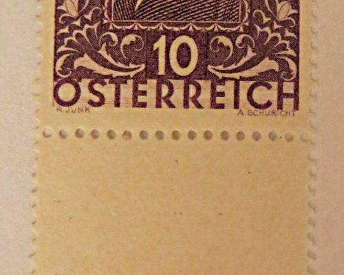 Dichter 1931 Briefmarken Österreich
