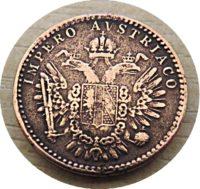 3 Centesimi M 1852 Lombardei Venetien Impero austriaco