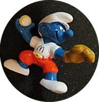 Baseballwerfer Schlumpf 1997 McDonald