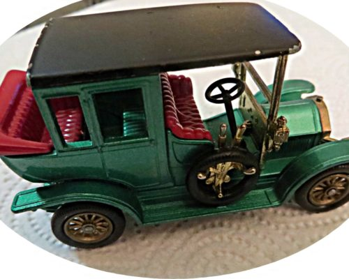 Benz Limousine Y3 Lesney matchbox models of yesteryear