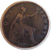 1 Penny 1901 Großbritannien
