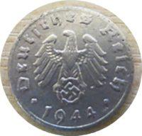 1 Reichspfennig D 1944
