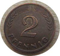 Pfennige 1950 Deutschland Münzen