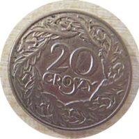 20 Groszy 1923  Polen Münzen