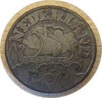 25 Cent 1941  Holland Münzen Niederland