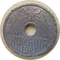 5 Bani 1921  Rumänien Münzen