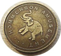 Hommerson Amusement Elefant - Spielcasino Jeton / Token