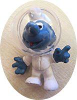Der erste Mond Schlumpf 1971 Schleich Nr. 371 W. Germany