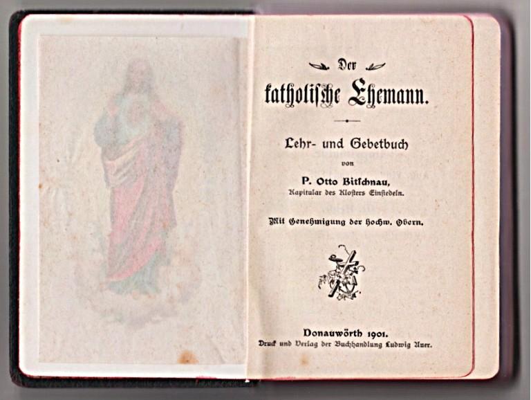 Der Katholische Ehemann Lehrbuch 1901