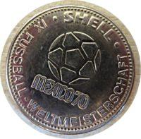 Shell XI. Fußball Weltmeisterschaft Mexiko 1970 - Klaus Fichtel