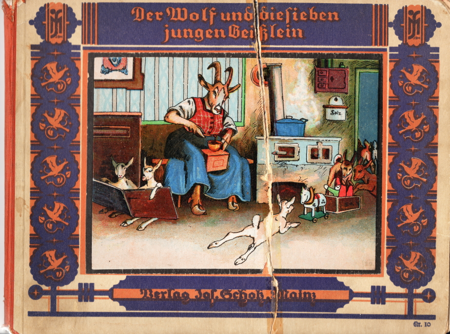 Wolf u die 7 jungen Geißlein Scholz Verlag