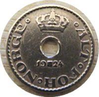 10 Öre 1924 Norwegen Münzen