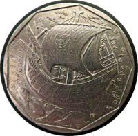 50 Escudos 1989 Portugal Münzen