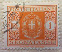 Portomarken Italien 1945 - segnatasse poste italiana 1945