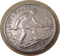 1 Franc 1946 Luxemburg Münzen - Letzeburg