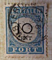 10 Cent Te betalen  port - Portomarke Holland