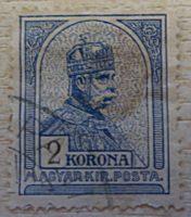 2 Korona 1901 - 1909 Briefmarke Ungarn