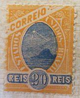 20 Reis 18.7.1894 Brasilien Briefmarken / Brazil stamps / selos Brasil