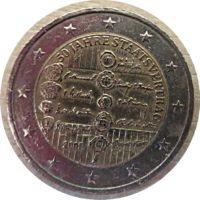 2 € 2005 AT 50 Jahre Staatsvertrag Österreich 2 Euro Sonderprägung