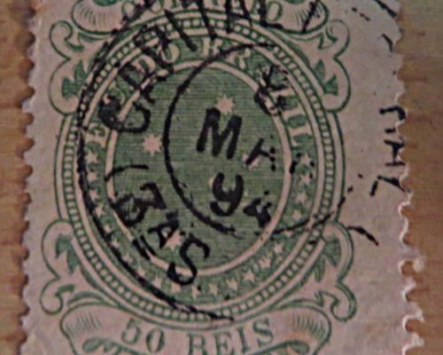 Kreuz des Südens - Briefmarken Brasilien 1890 - the Southern Cross Brazil stamps