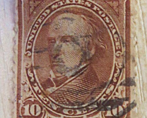 10 Cents Daniel Webster 1898 USA Briefmarken US stamps