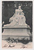 10 Rappen Monument imperatrice Áutriche Kaiserin Sissi Monument