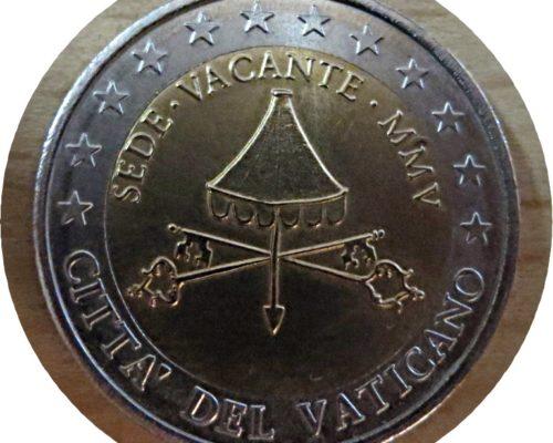 Specimen Vatikan 2 €  2005 - sede vacante MMV - cittá del Vaticano