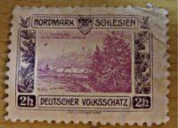 2 Heller Deutscher Volksschatz Schlesien - Nordmark Schlesien -  Propaganda Marke