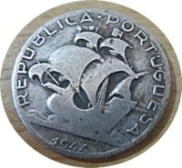 2,5 Escudos 1944 Silber Portugal Münzen
