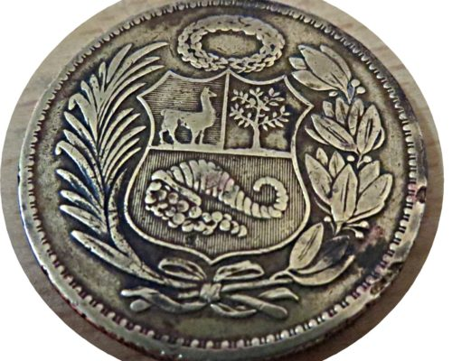 un sol de oro 1948 - Peru Münzen