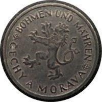 1 Krone 1942 Boehmen Maehren
