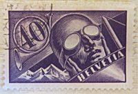 Flugpost Schweiz - 1923 - Schweiz Briefmarken