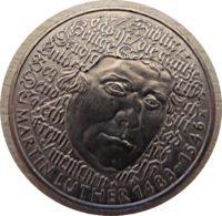 5 DM  G 1983 Martin  Luther - Münzen Deutschland - german coins