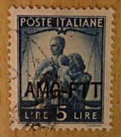 Triest Zone A - AMG-FTT Briefmarken Italien