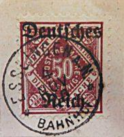 Dienstmarken von Württemberg 1920